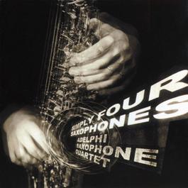 Simply Four Saxophones 1998 Adelphi Saxophone Quartet