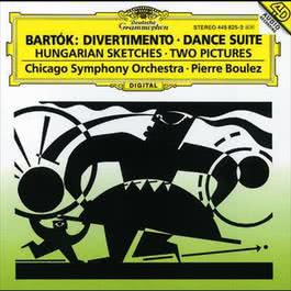 BartA3k: Divertimento; Dance Suite; Two Pictures; Hungarian Sketches 1995 Pierre Boulez; Chicago Symphony Orchestra