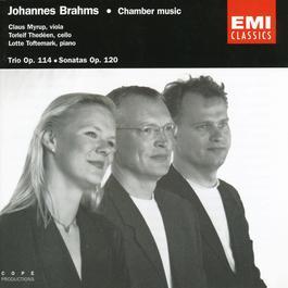 Brahms: Trio Op. 114, Sonatas Op. 120, No. 1 & 2 2006 Claus Myrup