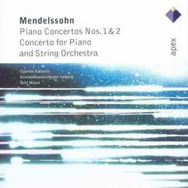 Mozart & Mendelssohn : Piano Concertos  -  Apex 2001 Cyprien Katsaris
