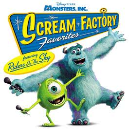 Monsters, Inc. Scream Factory Favorites 2002 Riders In The Sky