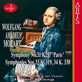 莫扎特第31-36号交响曲(Disc1) 1970 Peter Maag