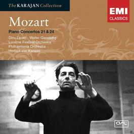 Mozart: Piano Concertos 21 & 24 2005 Herbert Von Karajan