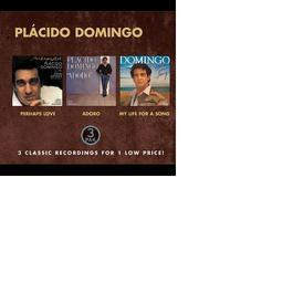 Plácido Domingo - CostCo (Nice Price) - Perhaps Love, Adoro, My Life for a Song 2000 Plácido Domingo