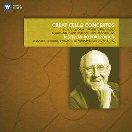 Great Cello Concertos 2012 Mstislav Rostropovich
