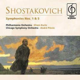 Shostakovich: Symphonies Nos. 1 & 5 2008 Efrem Kurtz