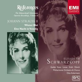 J.Strauss II: Eine Nacht in Venedig/Wiener Blut 1989 Elisabeth Schwarzkopf