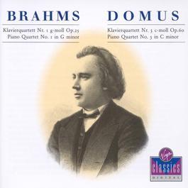 Piano Quartets Nos.1 & 3 2003 Domus Ensemble