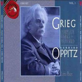 Grieg: The Complete Music For Piano Gerhard Oppitz 1993 Gerhard Oppitz