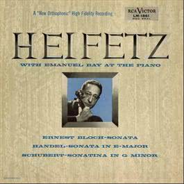Mozart: Divertimento, K. 563, in E-Flat, Duo No. 2, K. 424, in B-Flat, Handel: Harpsichord Suite No. 7 in G Minor 2011 Jascha Heifetz