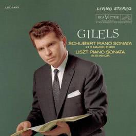 Schubert: Piano Sonata in D, D. 850/Op. 53; Liszt: Piano Sonata in B Minor 2011 Emil Gilels