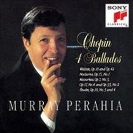 Chopin: Ballades, Waltzes Op. 18 & 42, Nocturne, Op. 15 No. 1; Mazurkas Op. 7 No. 3, Op. 17 No. 4, Op. 33 No. 2, Etudes Op. 10 Nos. 3 & 4 1995 Murray Perahia