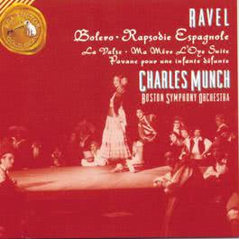 Ravel - Bolero Rapsodie Espagnole Pavan For A Dead Princess 1970 Charles Munch