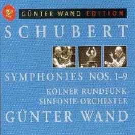 Schubert  Symphonies 1-9 2002 Gunter Wand