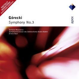 Górecki : Symphony No.3 Op.36, 'Symphony of Sorrowful Songs' : III Lento cantabile - semplice 2004 Ernest Bour