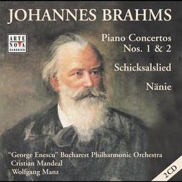 Johannes Brahms  Piano Concertos 1 + 2 2000 Cristian Mandeal