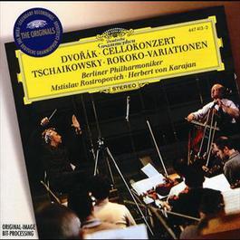 DvorA!k: Cello Concerto / Tchaikovsky: Variations on a Rococo Theme 1995 Berliner Philharmoniker; Herbert Von Karajan; Mstislav Rostropovich