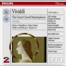 Vivaldi: The Great Choral Masterpieces 1998 Various Artists
