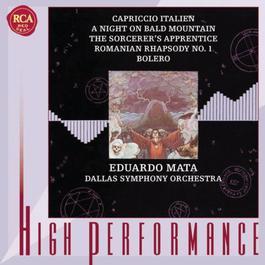 Tchaikovsky, Mussorgsky, Dukas, Enescu & Ravel: Orchestral Works 2000 Eduardo Mata