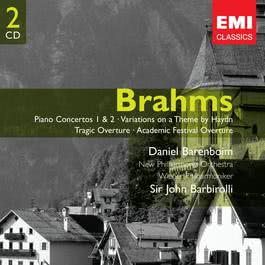 Brahms: Piano Concertos 1 & 2 - Variations on a Theme by Haydn - Tragic Overture - Academic Festival Overture 2005 Daniel Barenboim
