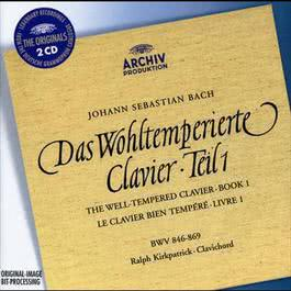 J.S. Bach: The Well-tempered Clavier, Book I 2000 Ralph Kirkpatrick