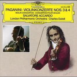 Paganini: Violin Concertos Nos. 3 & 4 1988 Charles Dutoit; London Philharmonic Orchestra; Salvatore Accardo