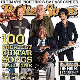 อัลบั้ม Rolling Stone Magazine's 100 Greatest Guitar Songs of All Time