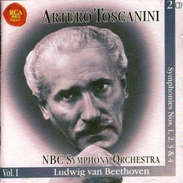 Arturo Toscanini: Ludwig Van Beethoven Symphonies Nos. 1,2,3,4 NBC Symphony Orchestra Vol. 1: 2 CD Set 1970 Arturo Toscanini