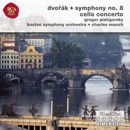 Dvorak Symphony No 8  Cello Concerto 1970 Charles Munch