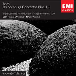 Bach: Brandenburg Concertos 2008 Yehudi Menuhin Collection; Bath Festival Chamber Orchestra; Robert Masters