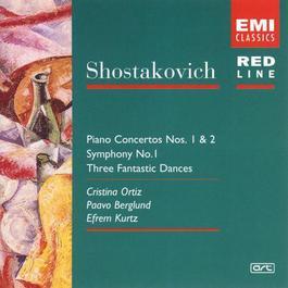 Shostakovich: Piano Concerto No. 1 + 2/Symphony No. 1/3 Fantastic Dances 2005 Paavo Berglund