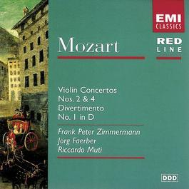 Mozart: Violin Concertos Nos. 2 & 4/Divertimento No. 1 2003 Frank Peter Zimmermann