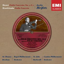 Historical Series: Mozart; Violin Concertos K218 & 219 etc.. 2006 Jascha Heifetz