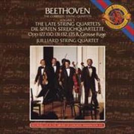 Beethoven: The Late String Quartets 2009 Juilliard String Quartet