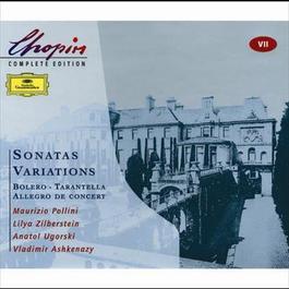 Chopin: Sonatas; Variations; Bolero; Tarantella; Allegro de concert 2000 Chopin----[replace by 16381]