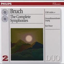 Bruch: The 3 Symphonies/Works for Violin & Orchestra 1998 Kurt Masur