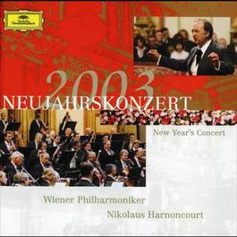 New Year's Concert 2003 2003 Nikolaus Harnoncourt; 維也納愛樂樂團