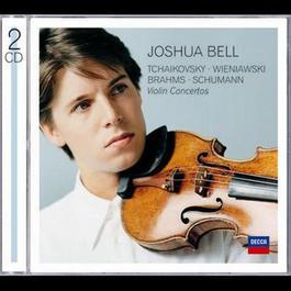 Tchaikovsky , Wieniawski, Brahms, Schumann Violin Concertos 2008 Joshua Bell