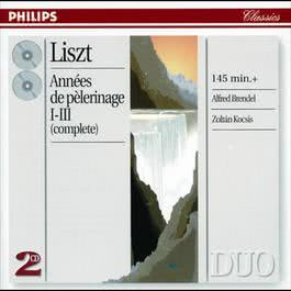 Liszt: AnnAces de pA¨lerinage, Books 1-3 1998 Alfred Brendel