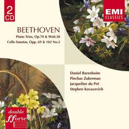 Beethoven : Piano Trios Op.70/WoO.38/Cello Sonatas 2001 Daniel Barenboim