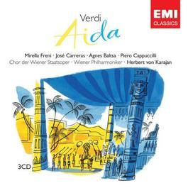 Aida - Verdi 2007 Herbert Von Karajan; MIRELLA FRENI; Jose Carreras; 維也納愛樂樂團