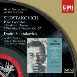 Shostakovich:Piano Concertos, Three Fantastic Dances, Preludes & Fugues. 2003 Chopin----[replace by 16381]