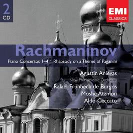 Rachmaninov: Piano Concertos 1-4 & Rhapsody on a Theme of Paganini 2005 Agustin Anievas