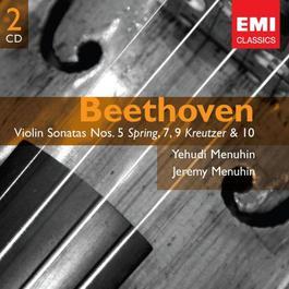 Beethoven: Violin Sonatas Nos. 5,7,9 & 10 2007 Yehudi Menuhin