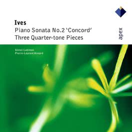 Ives : 3 Quarter-tone Pieces for 2 pianos : I Largo 2004 Alexei Lubimov