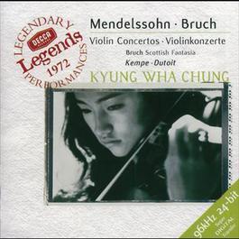 Mendelssohn: Violin Concerto / Bruch: Violin Concerto / Scottish Fantasy 1999 Kyung Wha Chung, Kempe(R.P.O), Dutoit(O.S.d.M)