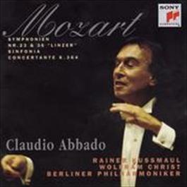 Mozart: Symphonies Nos. 23, 36 & Sinfonia concertante, K. 364 2008 Claudio Abbado