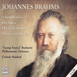Johannes Brahms  Symphonies No. 1 - 4 2000 Cristian Mandeal