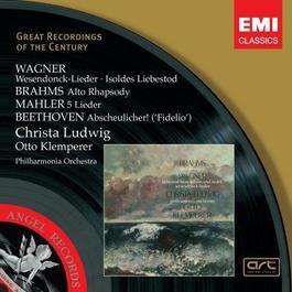 Wagner, Brahms, Beethoven, Mahler: Wesendonck-Lieder etc. 2006 Christa Ludwig