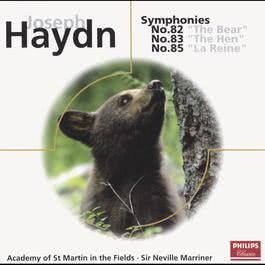 Haydn: Symphonies Nos.82,83 & 85 2014 Academy Of St. Martin-In-The-Fields; Sir Neville Marriner